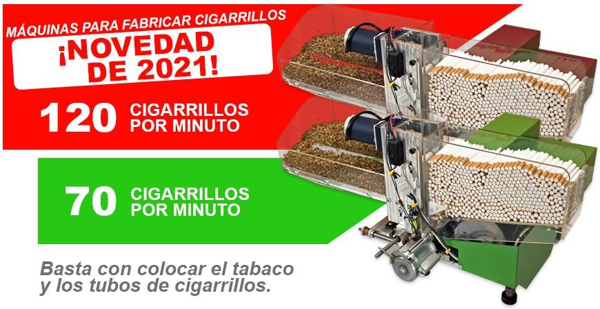 Máquinaa para hacer cigarrillos TREZO 1000 Turbo, Green